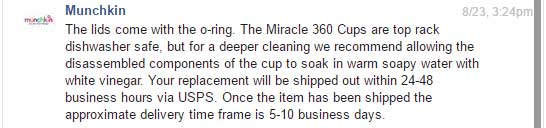 Miracle 360 cleaning instructions