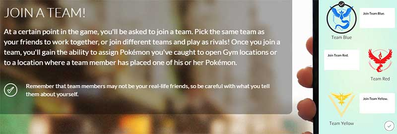 Pokemon Go Teams Explanation