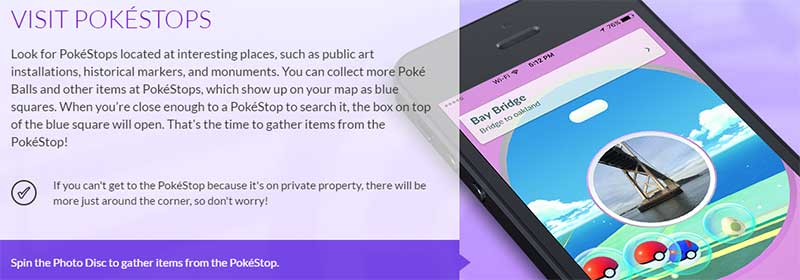 What to do at a Pokestop