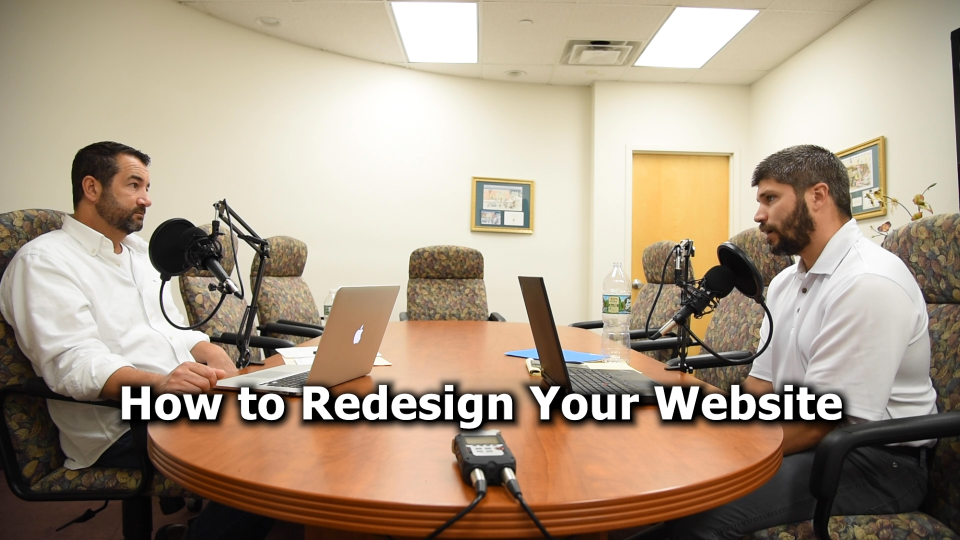 The Right Way to Redesign Your Website - The Messengers Podcast